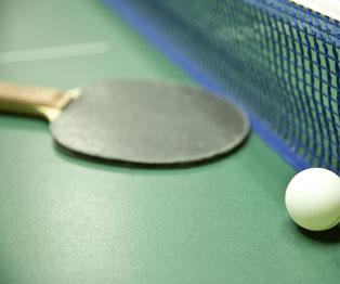 Ping Pong at Riviera Maya