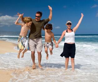 Family at Puerto Vallarta