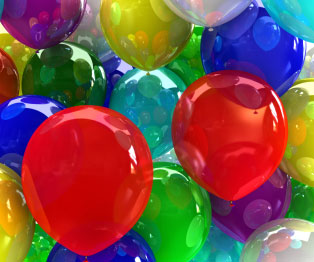 Puerto Vallarta Rooster Balloon Game
